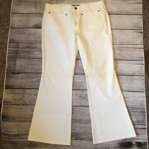 J Crew 14 Chinos Pants Wide Leg Jeans Stretch Plus